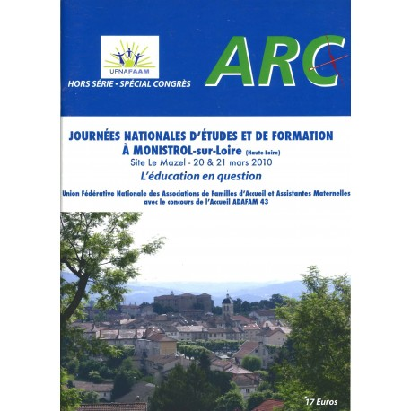 Actes Journées Nationales - mars 2010 - Monistrol