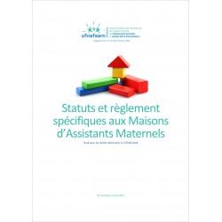 Statuts et règlement intérieur spécifiques aux MAM