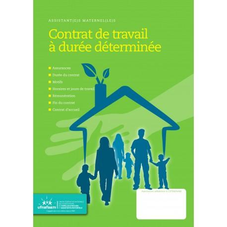 Contrat de travail occasionnel et/ou à durée déterminée